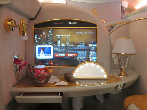 First class suites.