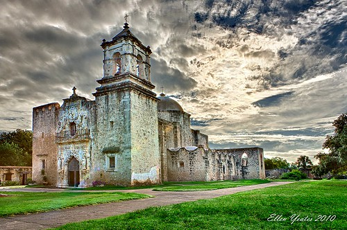 old travel sky storm building church austin photography ellen san catholic texas tour jose jesus pro mission after antonio visitor hdr largest yeates efex