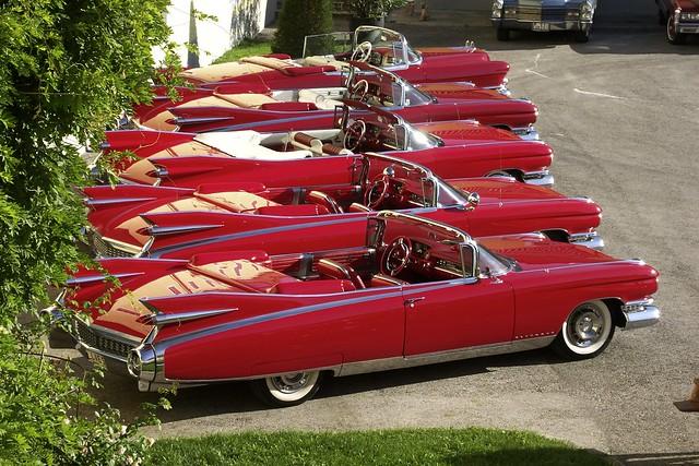 1959 Cadillac Eldorados At The Cadillac Big Meet Flickr