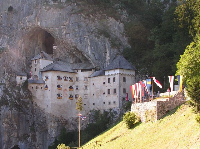 Predjama Castle in Slovenia - photo by NastashaM on Flickr