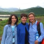 Audrey with Homestay Family - Tatev, Armenia