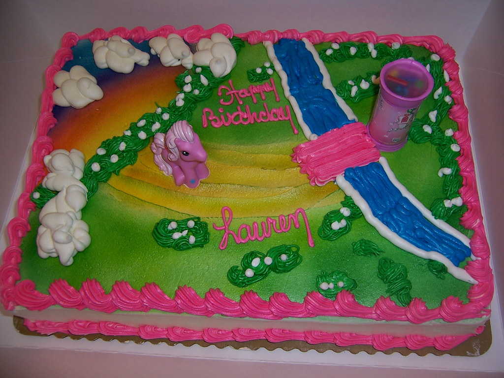 Laurens Birthday Cake My Little Pony From Publix