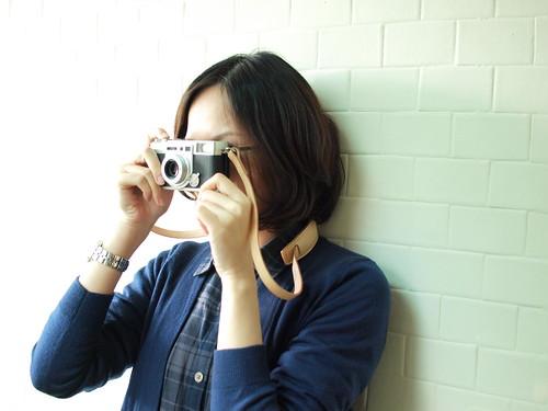 新相機+新背帶=好心情~XD