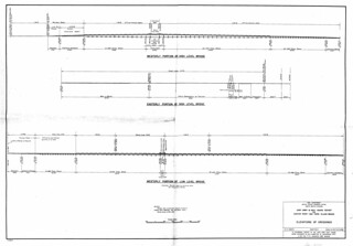 Joint Army & Navy Board Report on Hunter Point - Bay Farm Island Bridge: Elevations of Crossings (1941)