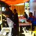 Suasana warung makan. : A food stall in Pasar Kliwon. Photo by Agam