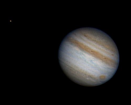 Jupiter + Io   10/23/10