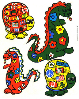 Logix Deco Stickers - Turtles & Dinos - 1971