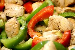 vegetarian food(0.0), produce(0.0), meal(1.0), panzanella(1.0), pasta salad(1.0), salad(1.0), vegetable(1.0), food(1.0), dish(1.0), cuisine(1.0),