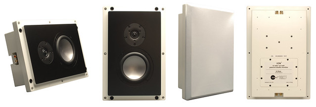 Blue Sky's I/ON | In-wall / On-wall passive studio monitor
