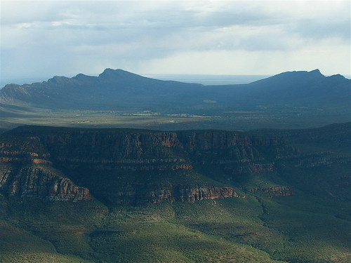 "Closer ""Postcard"" View of Wilpena Pound"