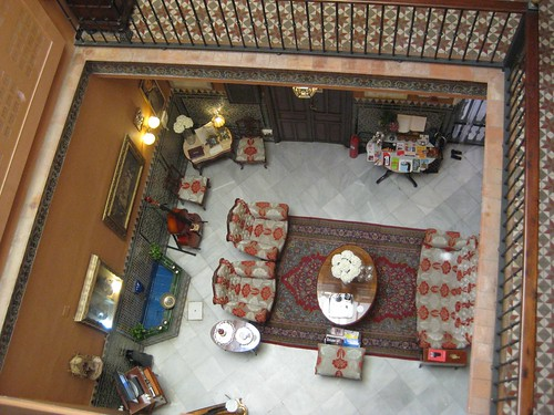 Amadeus hotel interior