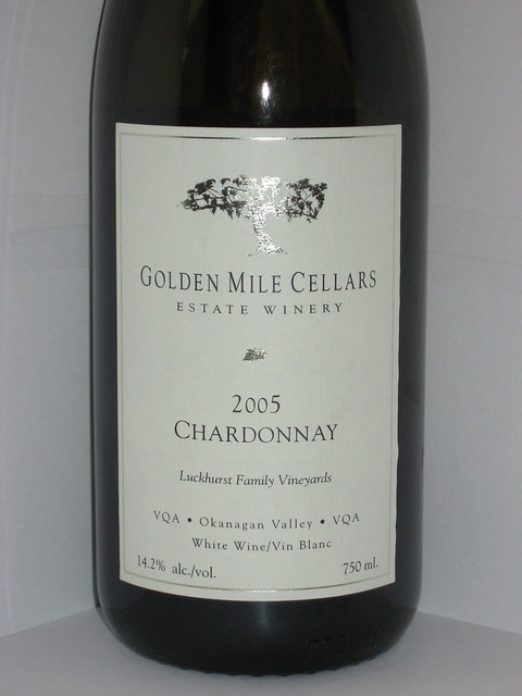 Golden Mile Cellars Chardonnay 2005