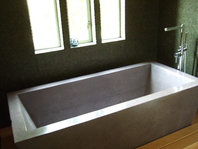 Concrete Bathtub Cement