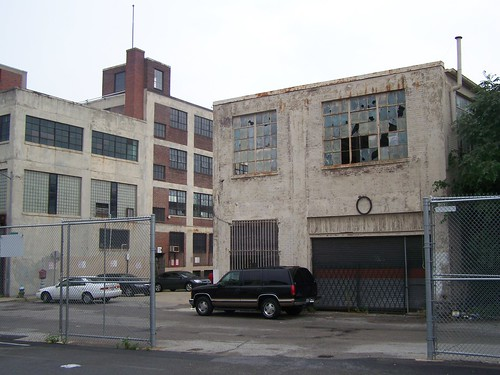 Warehouses on Reed Street at Channing Street NE