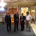 Ming and Nigel Bakhai visit Vishwa Hindu Kendra Temple<br /><a href='http://www.flickr.com/photos/mingcampbell/778487100'>See original image on Flickr</a>