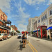 Decatur Street in New Orleans by ` Toshio '