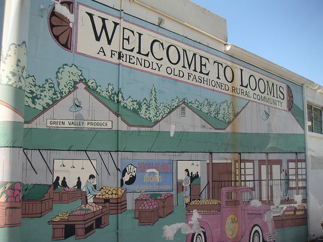 Public Art Welcome To Loomis Mural Flickr Photo