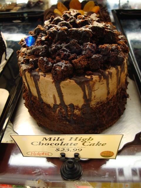 Mile high chocolate cake | Flickr - Photo Sharing!