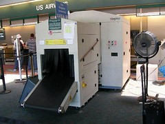baggage inspection machine