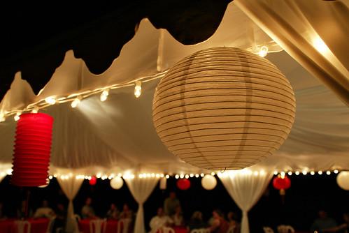 Lakeside wedding ideas centerpieces teal blue