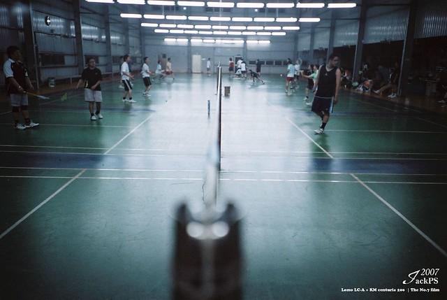 打羽球時拍LCA