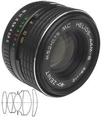 MC Helios-44M-6