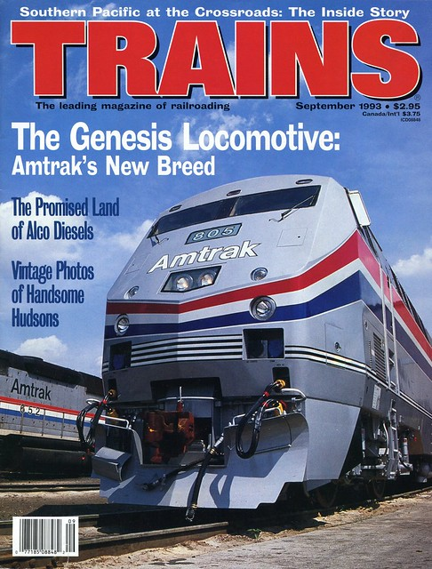 Amtrak Genesis Locomotive