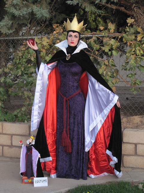 wicked queen costume holidays pinterest