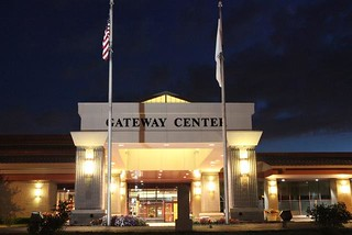 Gateway Center's Front Entrance