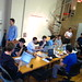 The crew at last night's facebook developers hackathon at Iridesco's offices by @superamit