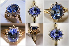 purple, sapphire, cobalt blue, jewellery, gemstone,