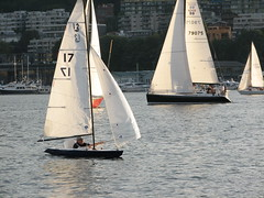 sailing ship(0.0), schooner(0.0), yacht(0.0), ship(0.0), galway hooker(0.0), windjammer(0.0), lugger(0.0), yacht racing(1.0), sail(1.0), sailboat(1.0), sailing(1.0), sailboat racing(1.0), dinghy(1.0), keelboat(1.0), vehicle(1.0), sailing(1.0), sports(1.0), skiff(1.0), windsports(1.0), mast(1.0), watercraft(1.0), scow(1.0), dinghy sailing(1.0), boat(1.0),