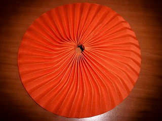 Subtle Spiral in Orange