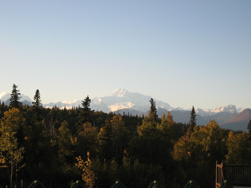 Mount McKinley far