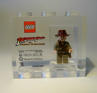 Lego Indiana Jones Launch Brick