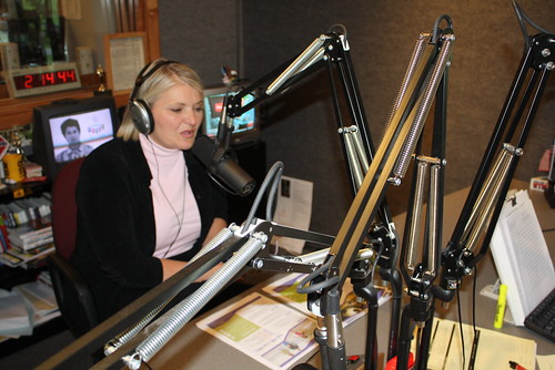 Cindy on the Radio with Rocky D