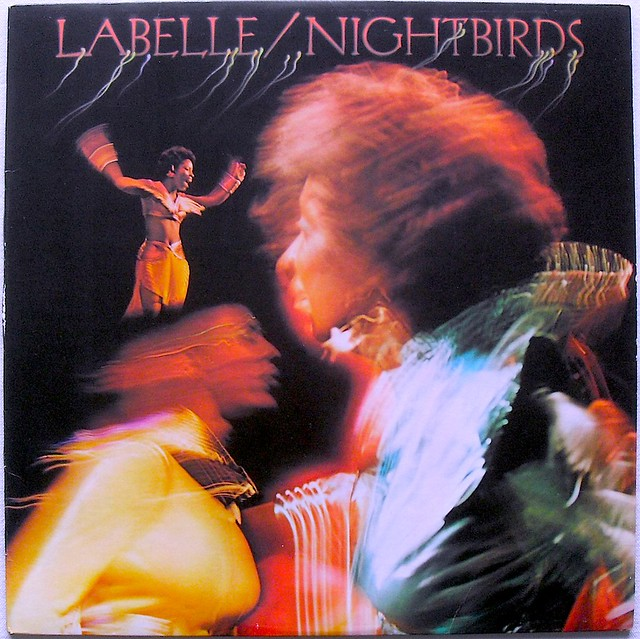 LABELLE 1974 Nightbirds LP record album vintage vinyl A