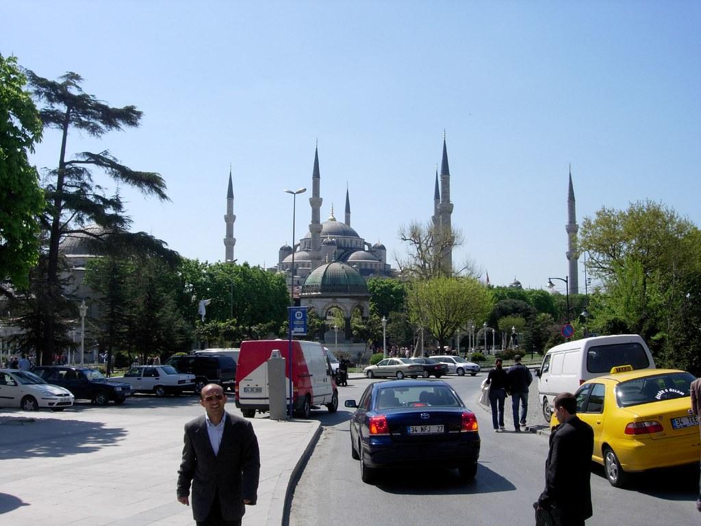 La Mezquita Azul en Estambúl
