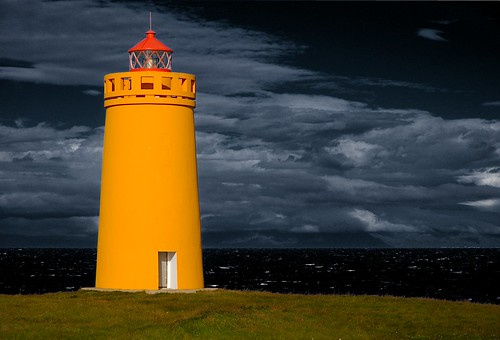 Hólmbergsviti lighthouse, Iceland