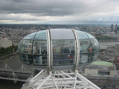 an eye capsule -london