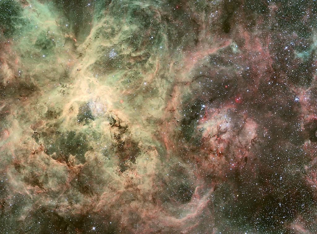 ESO 2.2-m WFI Image of the Tarantula Nebula