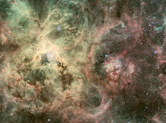 ESO 2.2-m WFI Image of the Tarantula Nebula