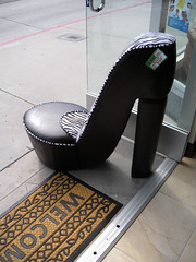 footwear, high-heeled footwear, chair,