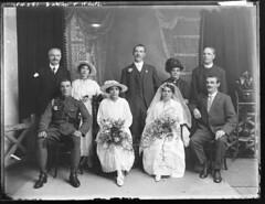 Allison Weddings E, F & G initials