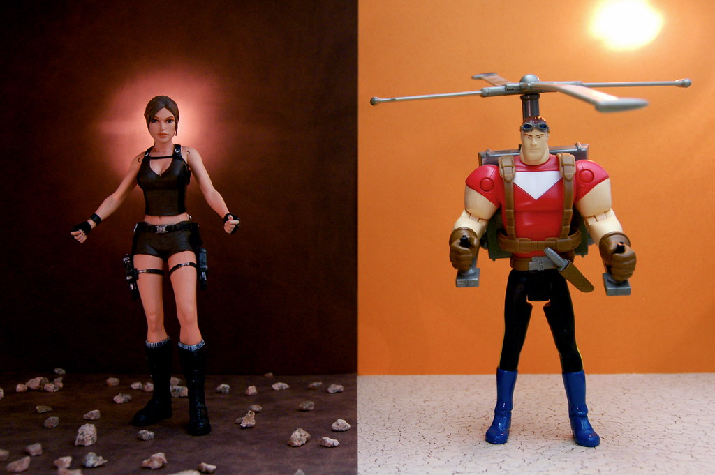 Lara Croft vs. Tom Strong (314/365)