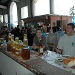 Dan with Honey Vendors - Zugdidi, Georgia