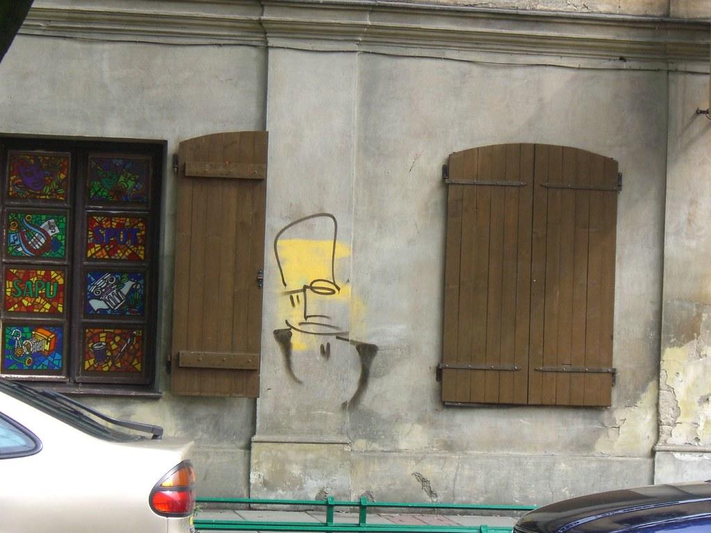 streetart | character | krakow 2007
