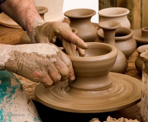 Las curaciones con barro taringa for Herramientas ceramica artesanal