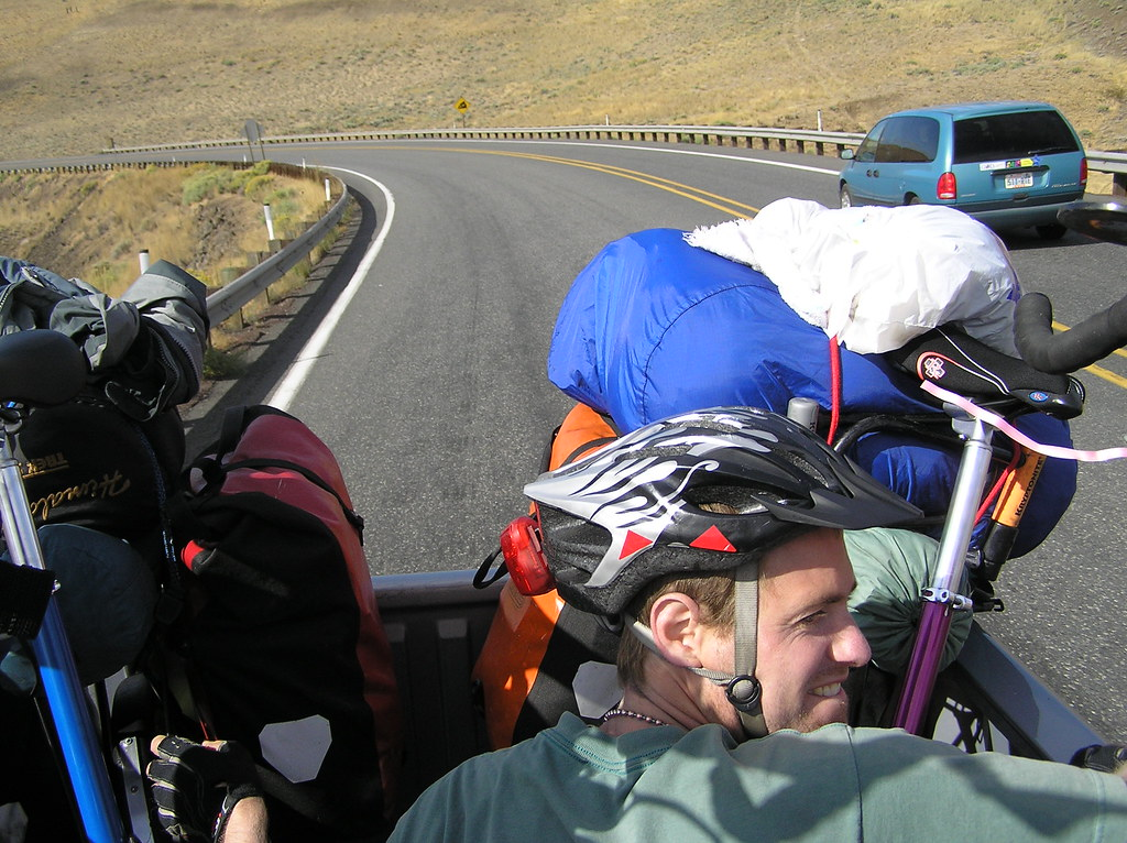 Over 500 mile bike ride to Idaho. Sept - Oct 2007