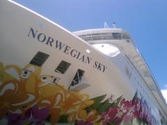 Norwegian Sky at Prince George Wharf